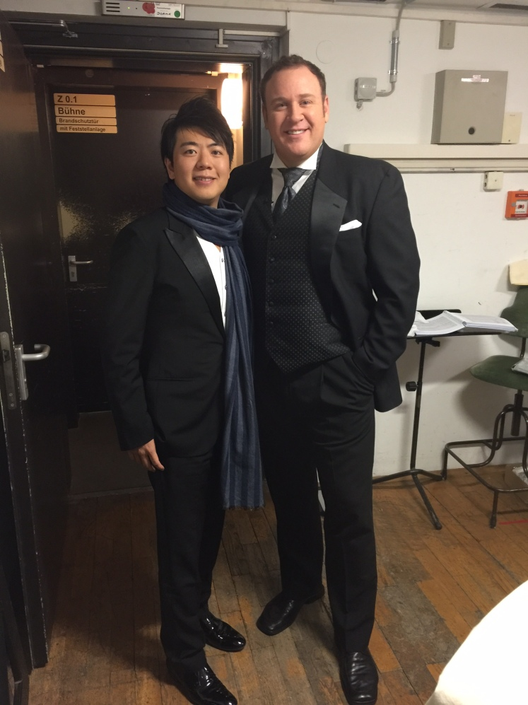 "Backstage with Lang Lang at Staatskapelle Dresden's ""Silvesterkonzert"" on New Year's Eve"