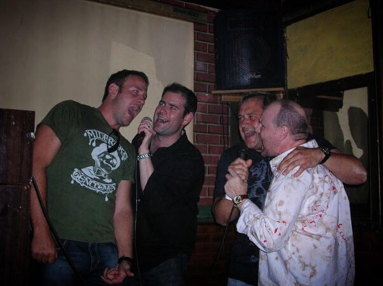 Out in 2006 for some karaoke with Jason Bridges... I enjoy karaoke, can you tell?