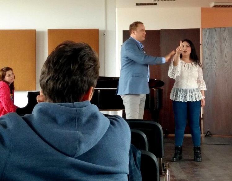 Masterclass cu Lucas Meachem la Conservatorul Bucuresti